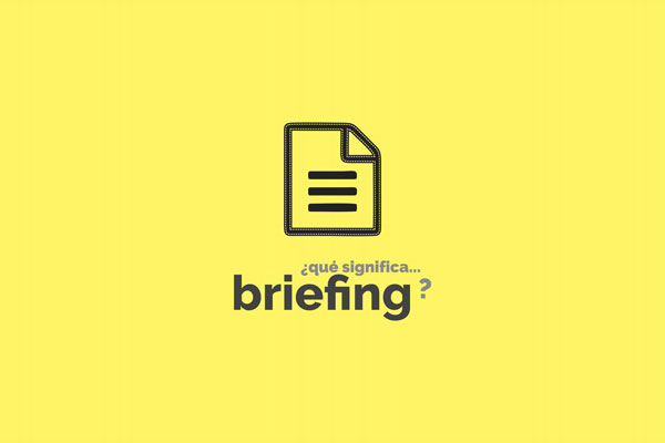 Que significa Briefing en Marketing