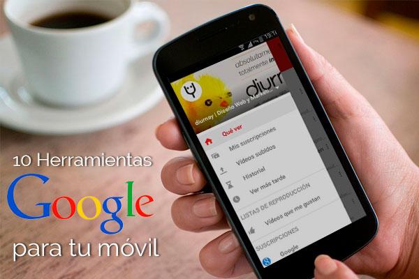 10-Herramientas con la cuenta Google
