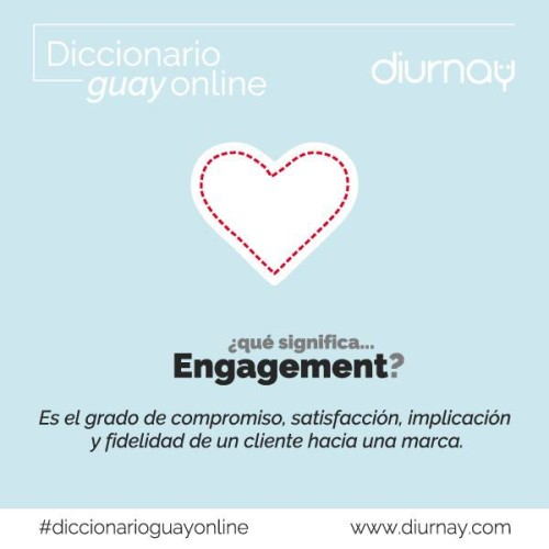 Engagement-diccionario online-diurnay