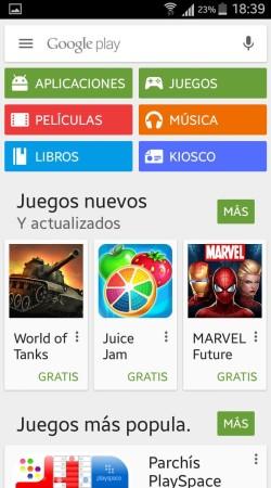 Google Play Móvil