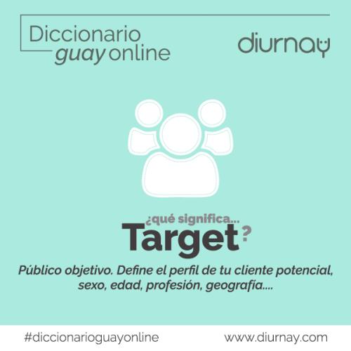 Target- significado-diccionario online-diurnay