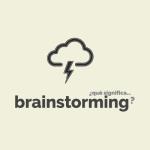 ¿Qué significa brainstorming?