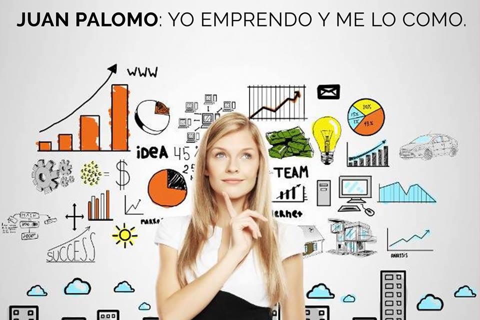 Emprendedor al estilo de Juan Palomo