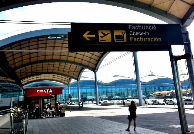 Experiencia usuario Aeropuerto Alicante-Elche, facturación equipaje.