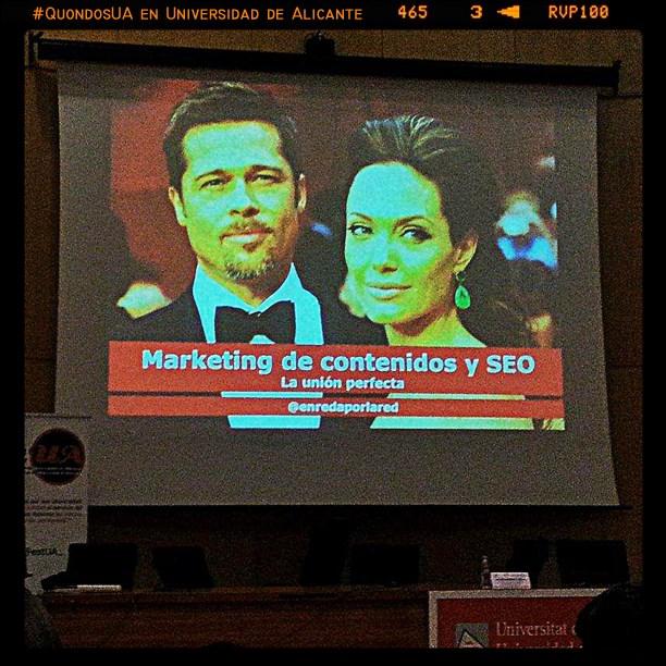 SEO  y Marketing de contenidos la pareja perfecta