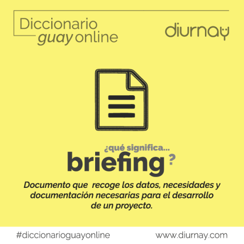 Significado Briefing en Marketing