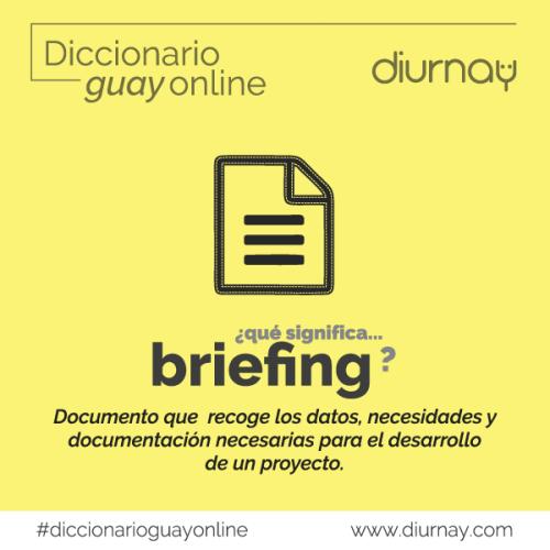 Significado Briefing en Marketing