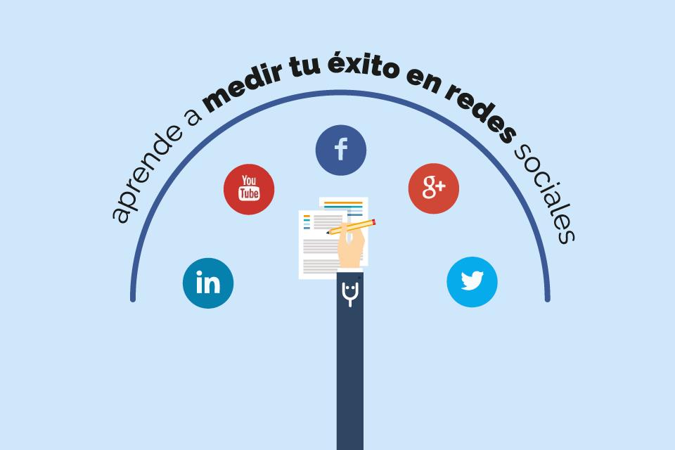 Medir el éxito en redes sociales