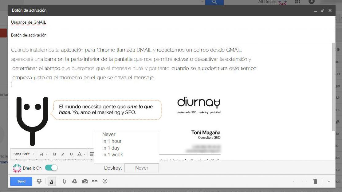 Cómo utilizar DMAIL para borrar mensajes en GMAIL