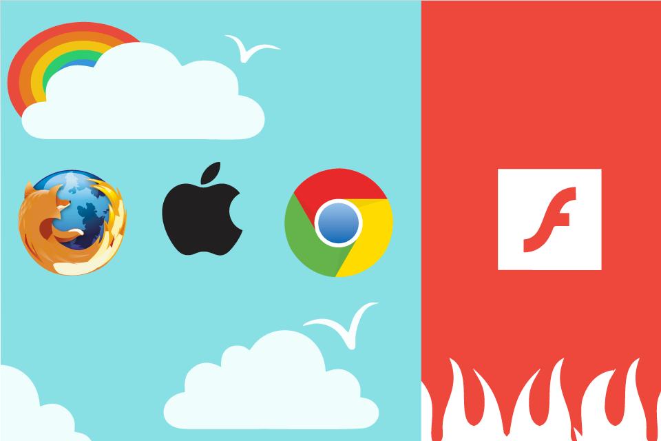 Adobe Flash no es seguro, o eso piensa Firefox