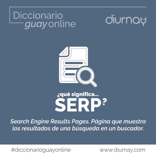 Qué significa SERP en marketing web