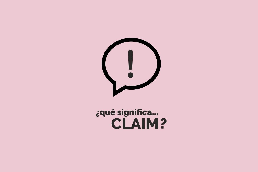 ¿Qué significa claim o eslogan?