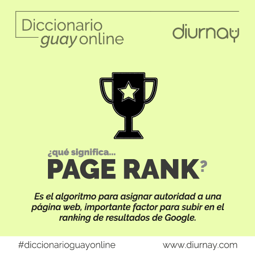 Qué es el pagerank en marketing