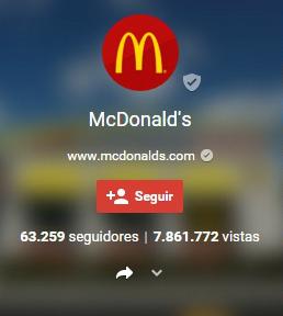 Página de Marca Google +