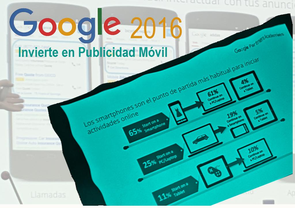 Publicidad Móvil Google en Alicante