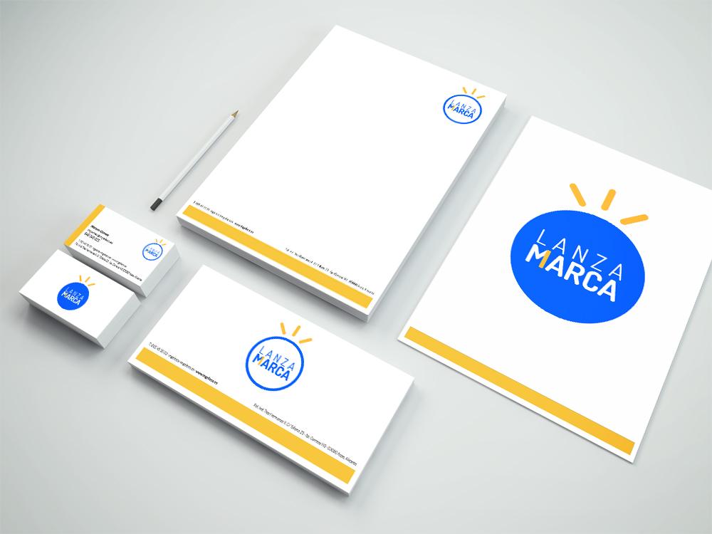 Diseño de Manual de Marca Lanza Mi Marca