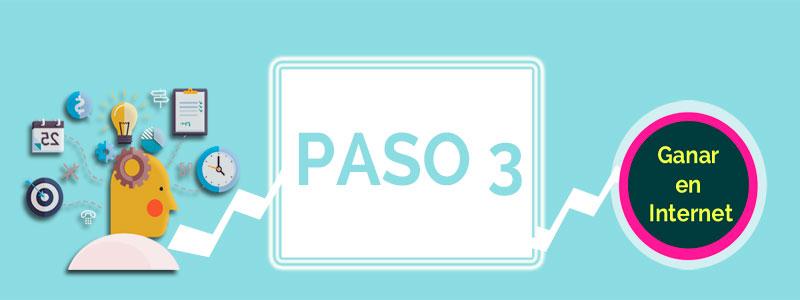 Ganara en Internet PASO 3