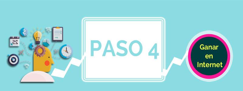 Ganara en Internet PASO 4