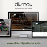 Proyecto web para Gastrobar El Laurel, sabores y sensaciones al lado del mar