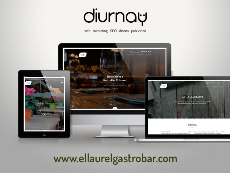 Proyecto web El Laurel Gastrobar