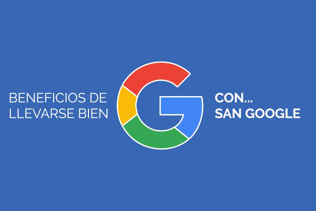 Beneficios del SEO y de llevarse bien con Google