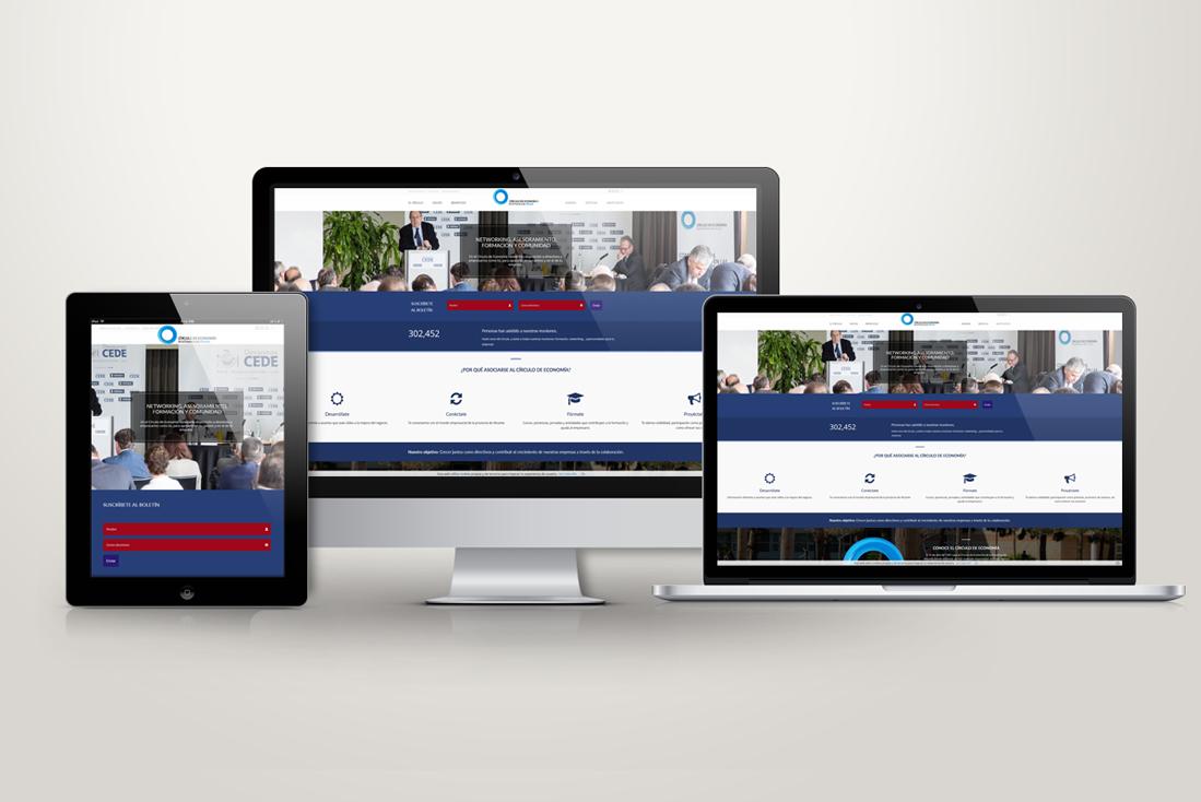 Proyecto webCírculo de Economía de la Provincia de Alicante web