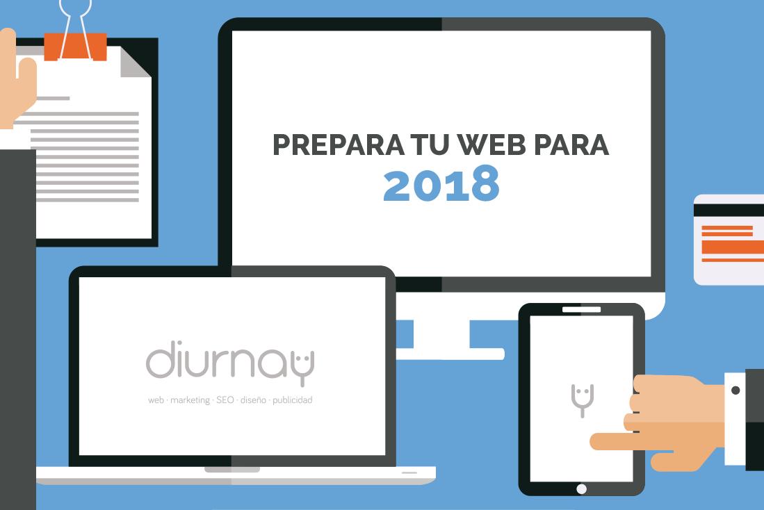 Tendencias en Diseño Web 2018