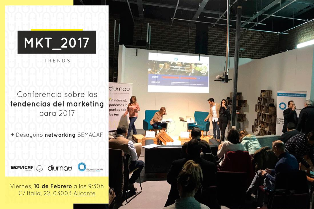 Tendencias de diseño Web 2017 y Marketing Online Diurnay