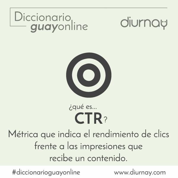 Qué significa CTR