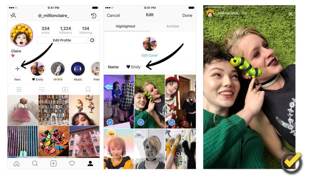 Instagram historia fijas