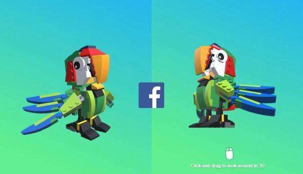 facebook imagenes 3d