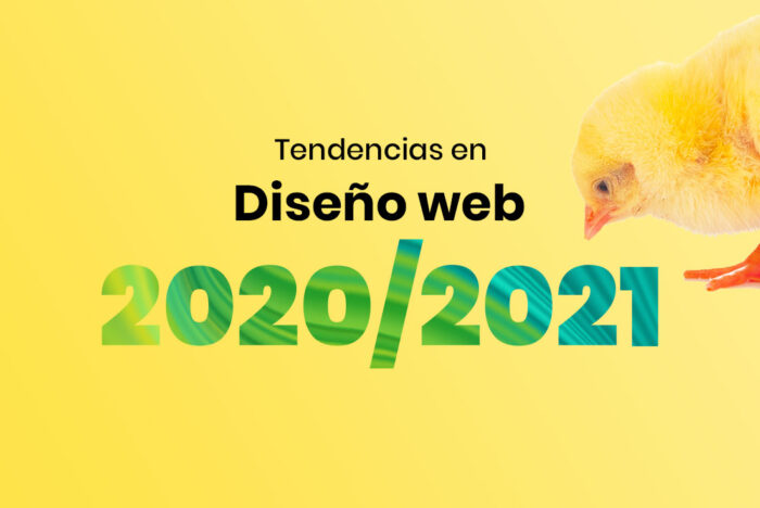 Tendencias en diseño web 2020 2021
